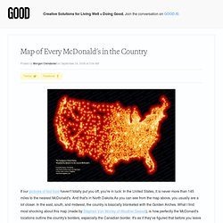 Map of Every McDonald's in the Country - Business