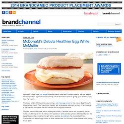 McDonald's Debuts Healthier Egg White McMuffin