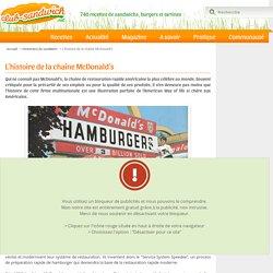 McDonald's : historique de la chaîne de fast-foods