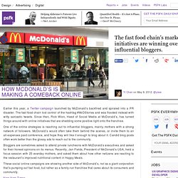 How McDonald's Is Making A Comeback Online
