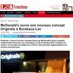 McDonald's ouvre son nouveau concept...
