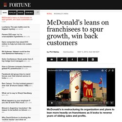 How McDonald's Plans to Make a Turnaround