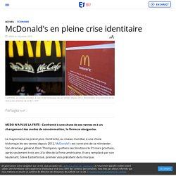 McDonald's en pleine crise identitaire