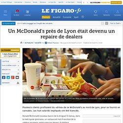Un McDonald's près de Lyon était devenu un repaire de dealers