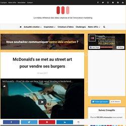 McDonald's se met au street art pour vendre ses burgers