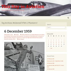 McDonnell YF4H-1 Phantom II Archives - This Day in Aviation