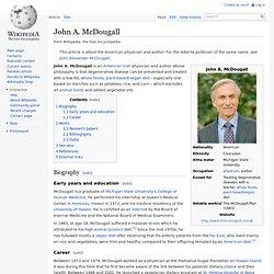 John A. McDougall