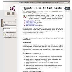 mcercle 0.6 - logiciel de gestion libre