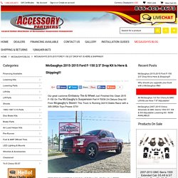 "McGaughys 2015 Ford F-150 2/3"" Drop Kit"