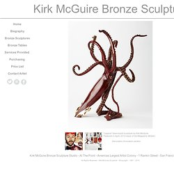 Kirk McGuire Bronze Sculpture - Tables - Designer