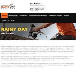 Best Mckinney Roofing Company