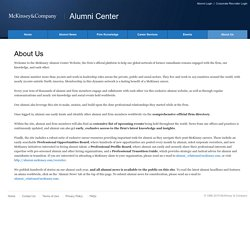 Alumni Center - Site info