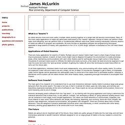 James McLurkin's Personal Webpage
