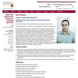 University > SCC-RI > Mick Bhatia
