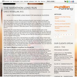 McMillan Running - Article ArticlePages