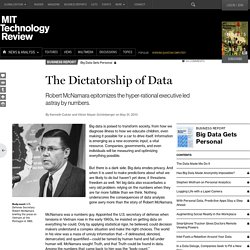 Robert McNamara and the Dangers of Big Data at Ford and in the Vietnam War