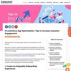 Mcommerce Customer Engagement Guide