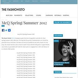 McQ Spring/Summer 2012