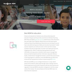 MDM solutions for Education