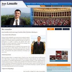 Me connaitre : Jean Lassalle