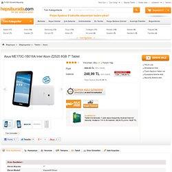 """Asus ME170C-1B016A Intel Atom Z2520 8GB 7"""" Tablet Fiyatı"""