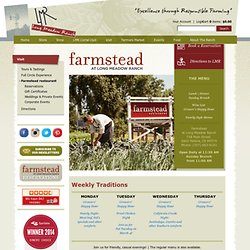 Long Meadow Ranch - Farmstead - Restaurant