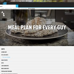 Meal Plan For Every Guy
