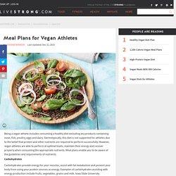 Meal Plans for Vegan Athletes