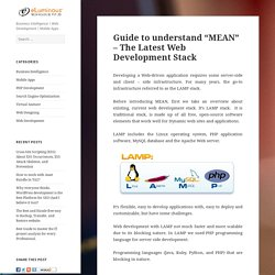MEAN Web Development Stack