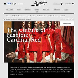 Meaning and History of the Color Red, from Religion to Fashion. - Swide