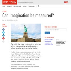 Can a test measure your imagination skills?