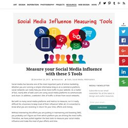 Measure your Social Media Influence with these 5 Tools