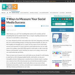 9 Ways to Measure Your Social Media Success