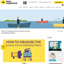 How to measure the success of your marketing Videos