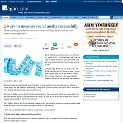 2 ways to measure social media successfully