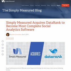 Simply Measured Acquires DataRank