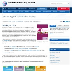 Measuring the Information Society