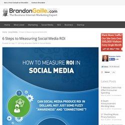 6 Steps to Measuring Social Media ROI