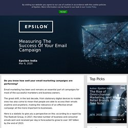 Measuring The Success Of Your Email Campaign