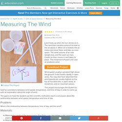 Measuring The Wind Experiment