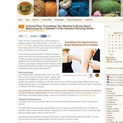 Expert Tips on Measuring Yourself for Knitting/Crocheting a Sweater
