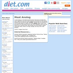 Meat Analog