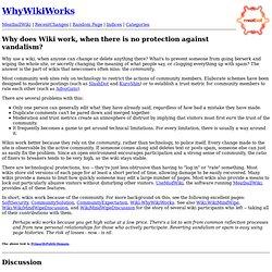 WhyWikiWorks