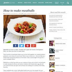 How to make meatballs - Jamie Oliver