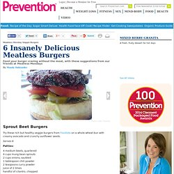 Meatless Monday Veggie Burgers