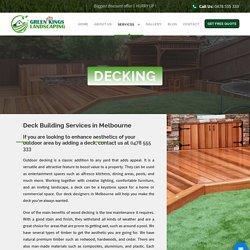 Deck Builders Melbourne