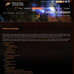 Mecánica del juego - Path of Exile España