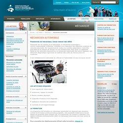 Mécanicien automobile - Comité sectoriel de la main-d'oeuvre des services automobiles
