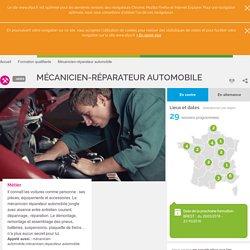 Mécanicien-réparateur automobile