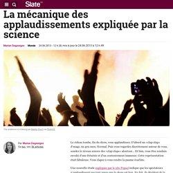 La mécanique des applaudissements expliquée par la science